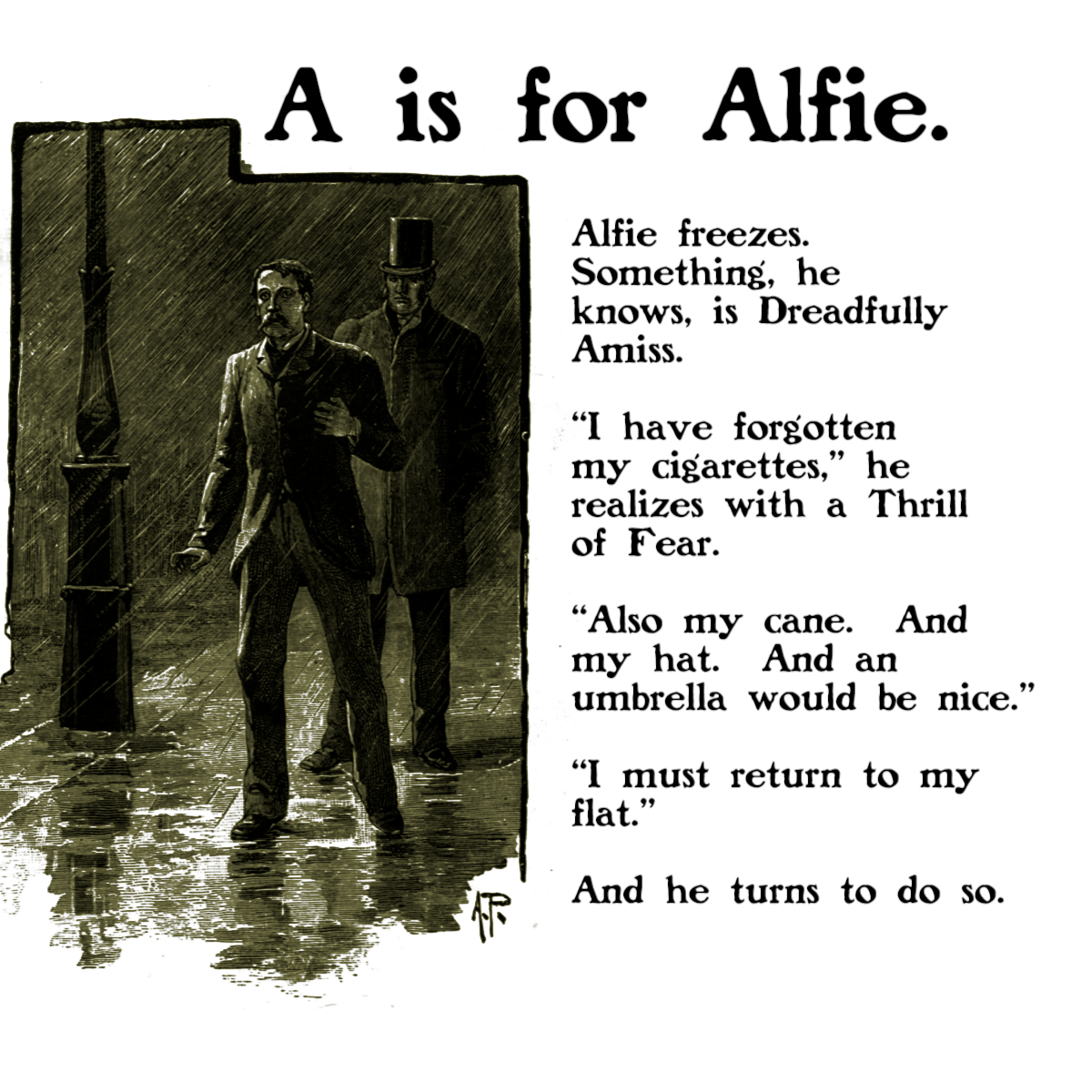 A is for Alfie