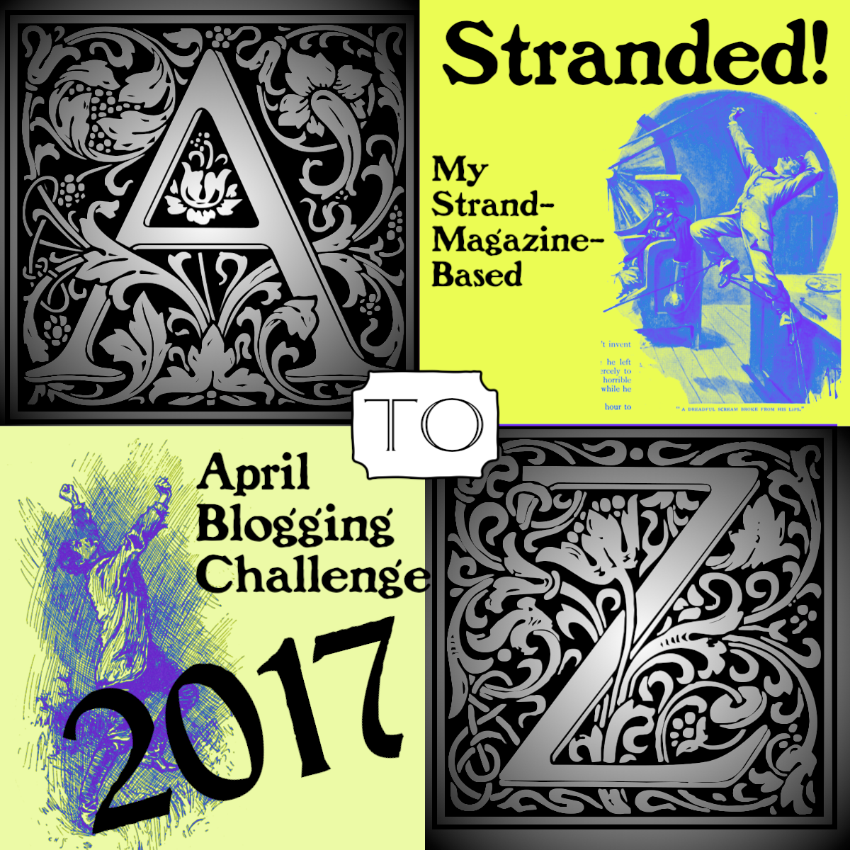 My April 2017 A To Z Challenge!